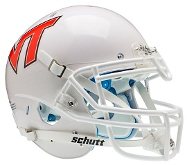 Authentic Virginia Tech Matte Black XP Helmet