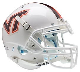 Authentic Virginia Tech White XP Helmet