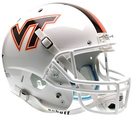 Replica Virginia Tech White XP Helmet