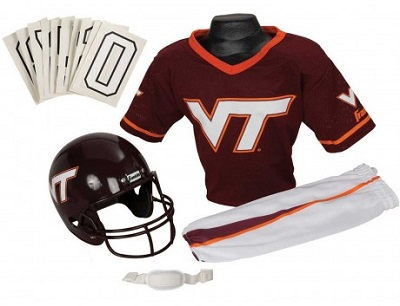Virginia Tech Hokies Youth Helmet Uniform Set
