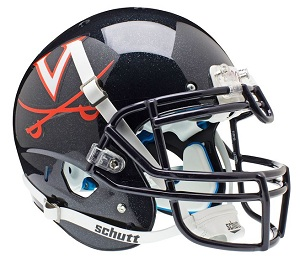 Authentic University of Virginia XP Helmet by Schutt