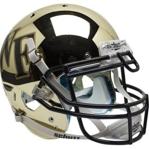 Wake Forest Gold Chrome XP Helmet