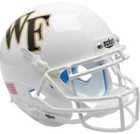 Wake Forest Replica White XP Football Helmet
