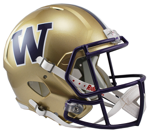 University of Washington Replica Speed Helmet