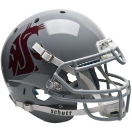Washington State Cougars Authentic XP Football Helmet by Schutt