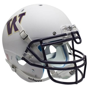 University of Washington Huskies White XP Football Helmet