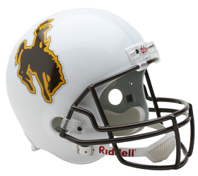 University of Wyoming Replica Football Helmet by Riddell