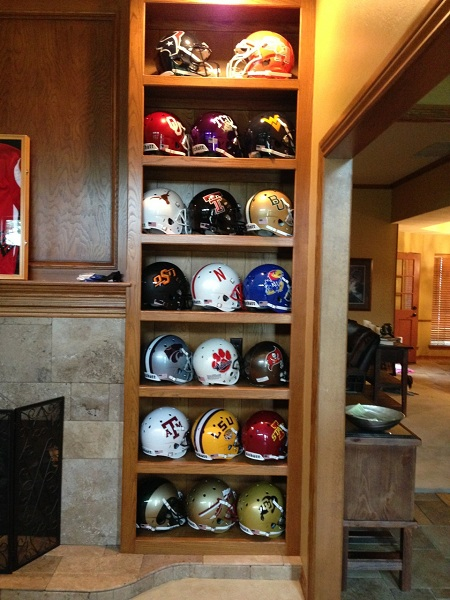 College Football Helmet Collectors Corner